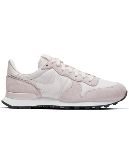 NIKE INTERNATIONALIST WOMEN'S SHOE LIGHT SOFT PINK/SUMMIT WHITE-BLACK