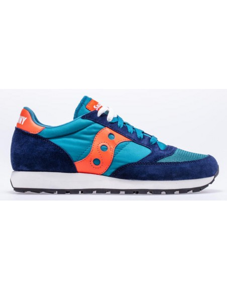 SAUCONY JAZZ O BLEU ORANGE