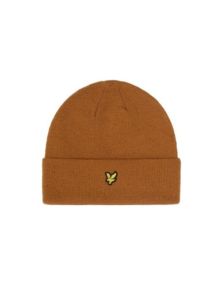 LYLE AND SCOTT BEANIE HAT CARAMEL