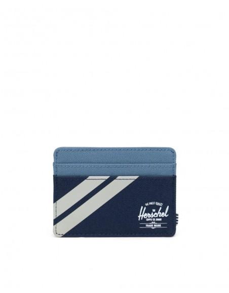 Herschel Porte-cartes Navy bleu Charlie