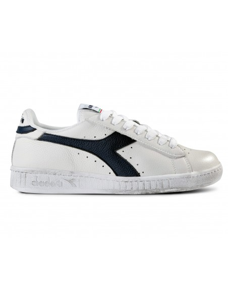 DIADORA GAME LOW WAXED BLANC/UNIFORME BLEU