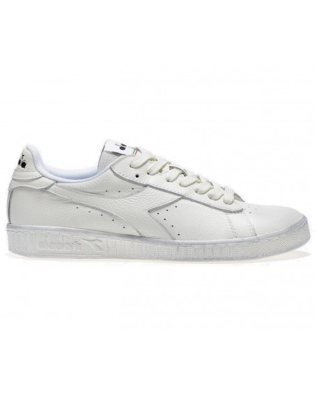 DIADORA GAME LOW WAXED BLANC/BLANC